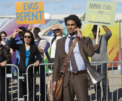 "HEROES REBORN -- ""The Day"" Episode 107 -- Pictured: Sendhil Ramamurthy as Mohinder Suresh -- (Photo by: Sophie Giraud/NBC)"