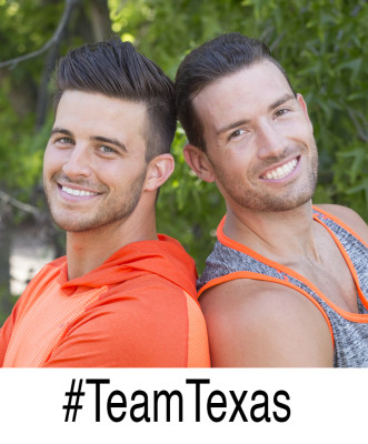 TANNER KLOVEN & JOSH AHERN -- Gallery for THE AMAZING RACE  Photo: Sonja Flemming/CBS ©2015 CBS Broadcasting, Inc. All Rights Reserved