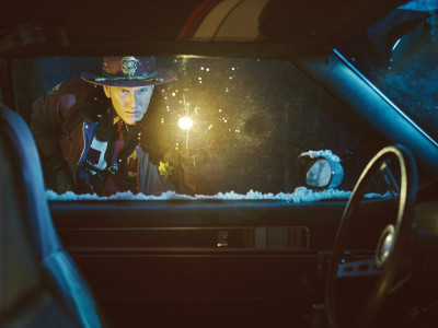 FARGO -- Pictured: Patrick Wilson as Lou Solverson. CR: Mathias Clamer/FX
