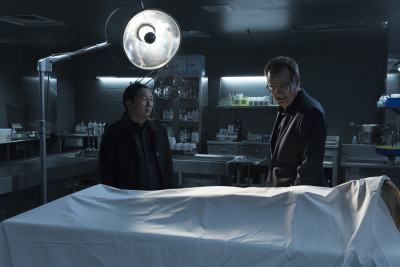 "HEROES REBORN -- ""June 13th - Part One"" Episode 107 -- Pictured: (l-r) Masi Oka as Hiro Nakamura, Jack Coleman as HRG -- (Photo by: Christos Kalohoridis/NBC)"