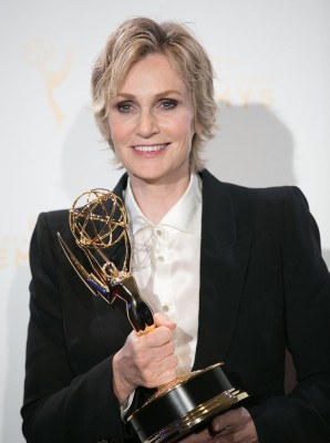 2015 Creative Arts Emmy Awards at Microsoft Theater- Press Room Featuring: Jane Lynch Where: Los Angeles, California, United States When: 12 Sep 2015 Credit: Brian To/WENN.com