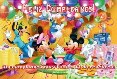 ¡Feliz Cumpleaños! Mickey