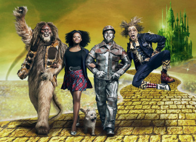 THE WIZ LIVE! -- Season: 2015 -- Pictured: (l-r) David Alan Grier as Lion, Shanice Williams as Dorothy, Ne-Yo as Tinman, Elijah Kelly as Scarecrow -- (Photo by: Kwaku Alston/NBC)