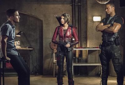 Arrow - Olivier, Thea, Diggle