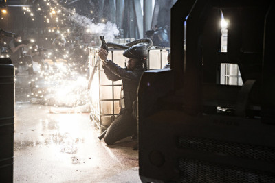 """THE EXPANSE --""""Leviathan Wakes"""" Episode 109 -- Pictured: Explosion -- (Photo by: Rafy/Syfy)"""
