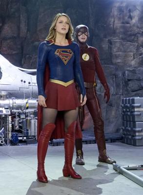 Supergirl - Supergirl & Flash