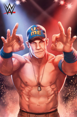 John Cena by Jamal Campbell