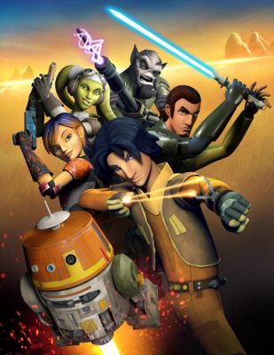"STAR WARS REBELS - ""Star Wars Rebels,"" an exciting, all-new animated television series based on one of the greatest entertainment franchises of all time, is scheduled to premiere in fall 2014 as a one-hour special telecast on Disney Channel, and will be followed by a series on Disney XD channels around the world. (DISNEY XD) KEY ART"