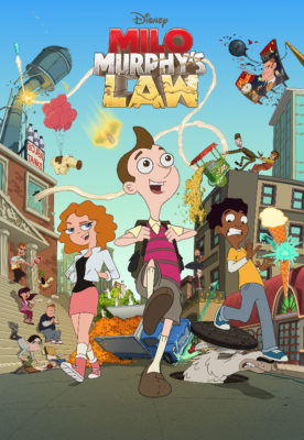 """MILO MURPHY'S LAW - Legendary satirist and Grammy Award-winning recording artist Al Yankovic (professionally known as """"Weird Al"""") voices the title role in """"Milo Murphy's Law,"""" a new animated adventure comedy series debuting MONDAY, OCTOBER 3 (8:00 p.m. EDT), on Disney XD. (Disney XD)"""