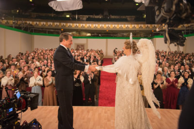 (L-R) Hugh Grant as St Clair Bayfield and Meryl Streep as Florence Foster Jenkins in FLORENCE FOSTER JENKINS, by Paramount Pictures, Pathé and BBC Films