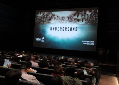 """WASHINGTON, DC - SEPTEMBER 26:  WGN America's """"Underground"""" screening and panel discussion as the inaugural public program at The Smithsonian National Museum of African American History and Culture on September 26, 2016 in Washington, DC.  (Photo by Paul Morigi/Getty Images for WGN America)"""