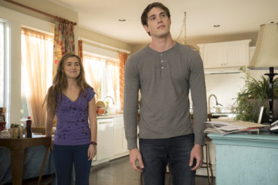 (Left to Right) Haley Lu Richardson and Blake Jenner in THE EDGE OF SEVENTEEN