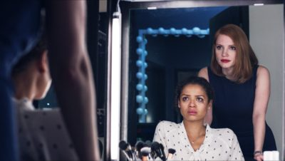 "M452  (Left to right.) Gugu Mbatha-Raw  and Jessica Chastain  star in EuropaCorp's ""Miss Sloane""...Photo Credit : EuropaCorp.© 2016 EuropaCorp Ð France 2 Cinema. ."