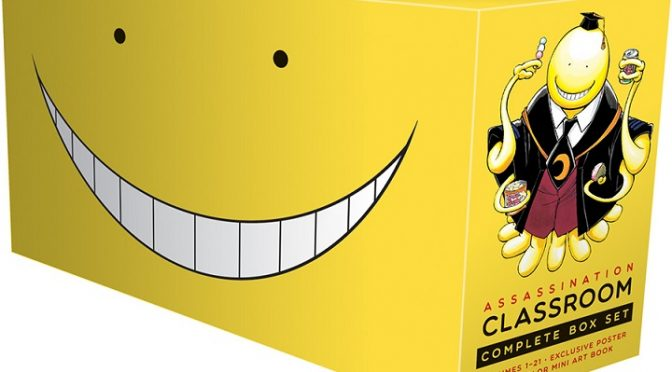 Assassination Classroom, Pokemon and Infini-T Force Lead VIZ Media's September Releases!