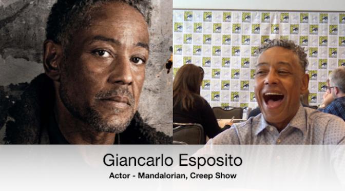 Giancarlo Esposito Talks About Mandalorian with Michelle!