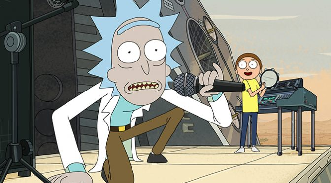 Global Phenomenon Rick and Morty Dimension Hops to HBO Max!