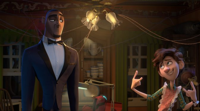 Spies in Disguise: 'Fly' Lyric Video Released!
