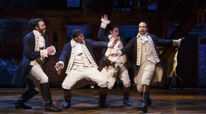 Disney To Bring Hamilton To Cinema!
