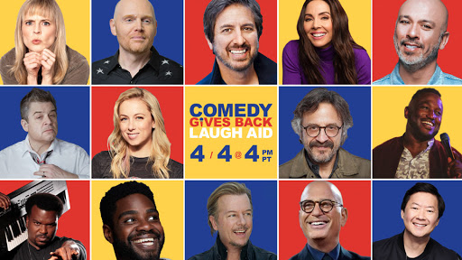 AXS TV TO BROADCAST THE STAR-STUDDED COMEDY GIVES BACK LAUGH AID BENEFIT EVENT!