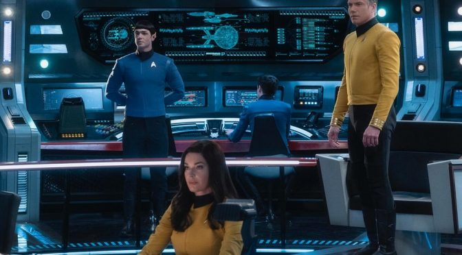 CBS All Access Brings Back Christopher Pike, Number One and Mr. Spock!