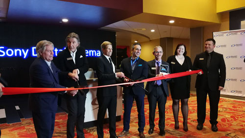 Sony Opened with the World Wide Launch of Sony Digital Cinema Premium Large-format Auditorium at Galaxy Theatres' Las Vegas Location