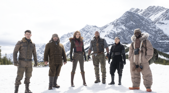 Brittany Is Totally a… Trailer: Jumanji: The Next Level!