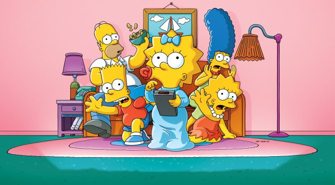 """""""The Simpsons"""" Animated Short Film Maggie Simpson in Playdate with Destiny StreamsTomorrowon Disney+!"""