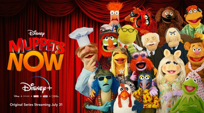 The Pig's Out of the Bag! Muppets Now to PremiereDisney+ in July!